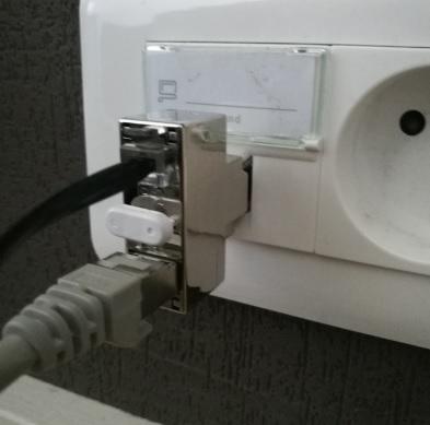 Doubleur RJ45 Téléphone + Informatique