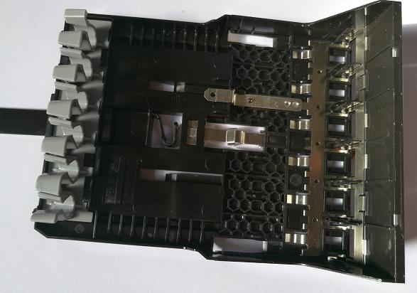 Legrand Cassette 6 RJ45 LCS3 Dessus Vide