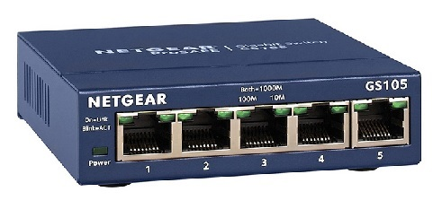 Switch Netgear 5 ports Gigabit