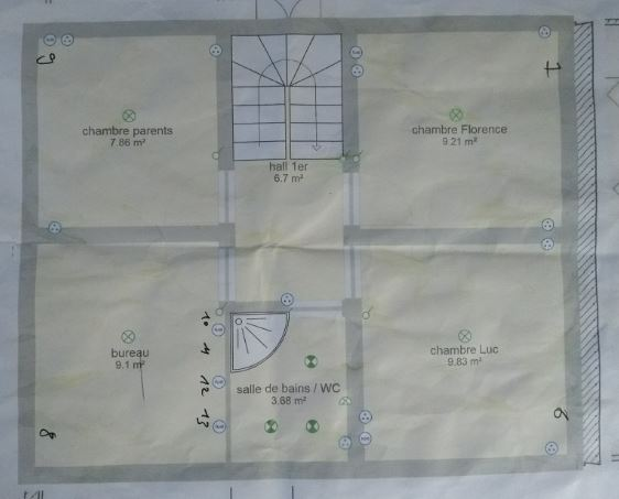 Plan Hugo Étage 1