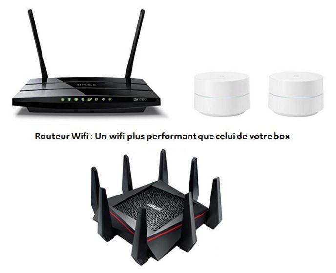 Routeur wifi - 3 modèles sélectionnés