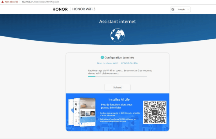 Honor-router-3-redemarrage