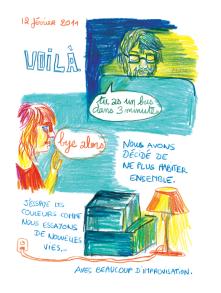 Journal, Julie Delporte, extrait 01