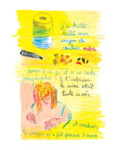 Journal, Julie Delporte, extrait 02