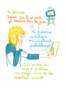 Journal, Julie Delporte, extrait 05