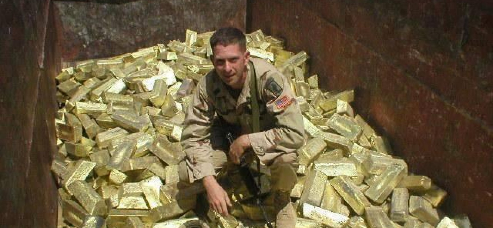 Guerre d'Irak de 2003 : faute d'ADM, les Etats-Unis ont trouvé de l'or