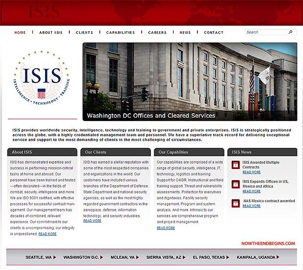 ISIS assure la sécurité dans le monde entier, de l'intelligence, de la technologie et de la formation du gouvernement et des entreprises privées dans le Moyen-Orient, et situé dans le Ronald Reagan Building à Washington, DC - Cliquez sur l'image pour visiter le site