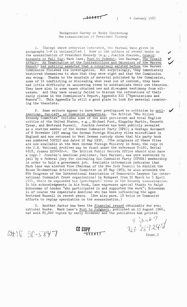 Comment la CIA a-t-elle converti le terme « théorie du