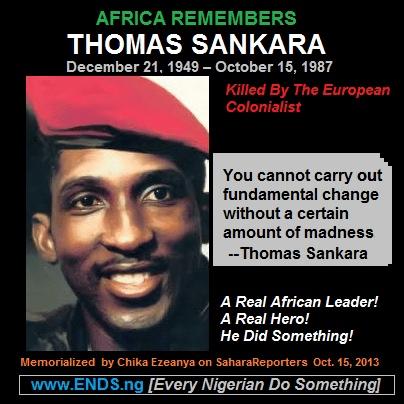 thomas sankara Burkina Faso: Le Coup d'état préventif d'Obama contre Blaise Compaoré