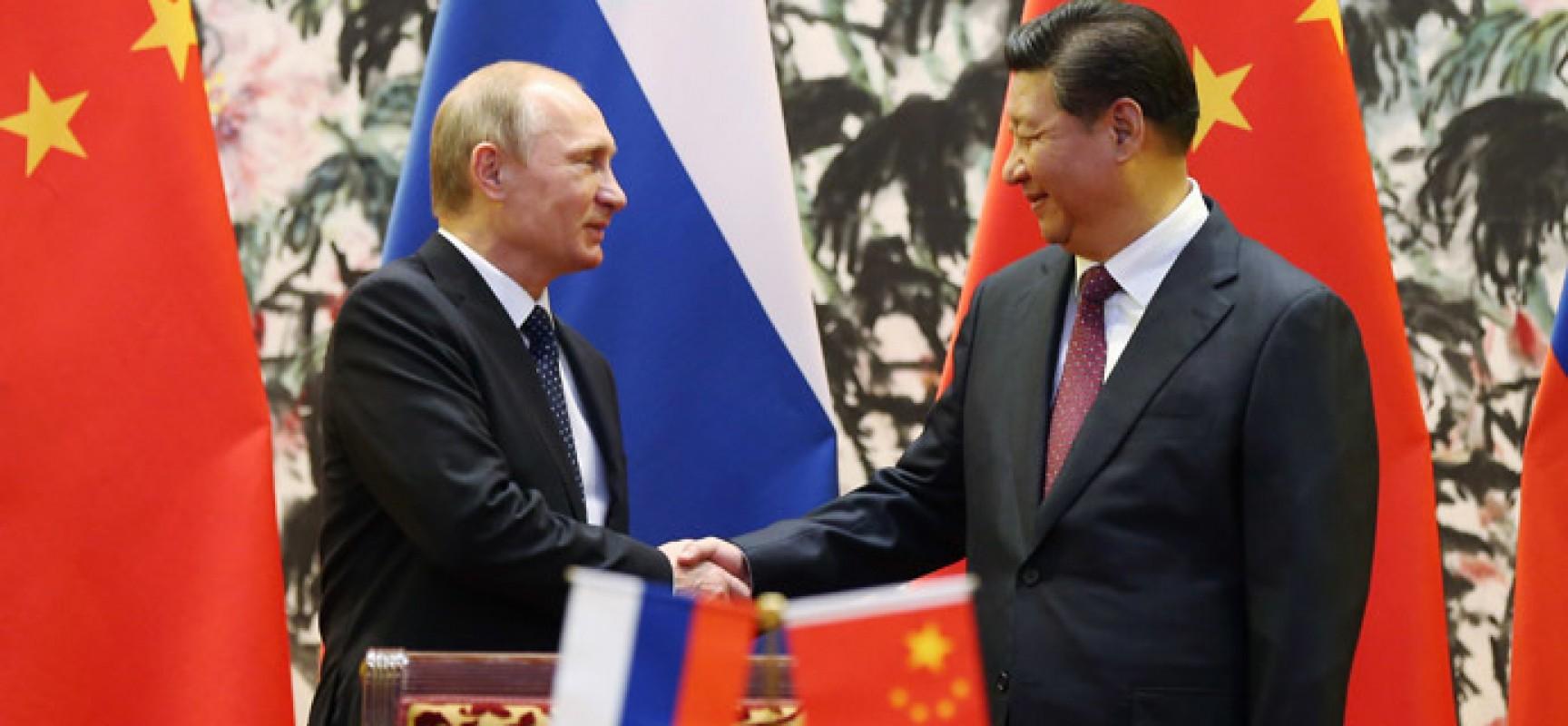La Chine s'engage à aider la Russie à surmonter ses difficultés économiques