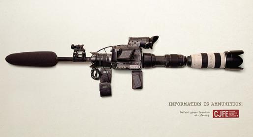 cameragunad2L'information est munition