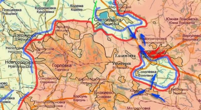 Gorlovka – Debaltsevo