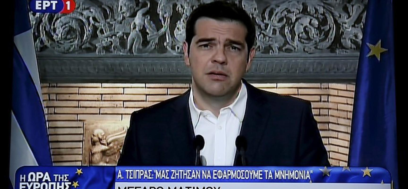 Grèce : Le petit grain de sable qui fait dérailler l'Union Européenne