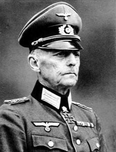 Le général Gerd Von Rundstedt