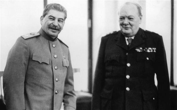 Staline et Churchill