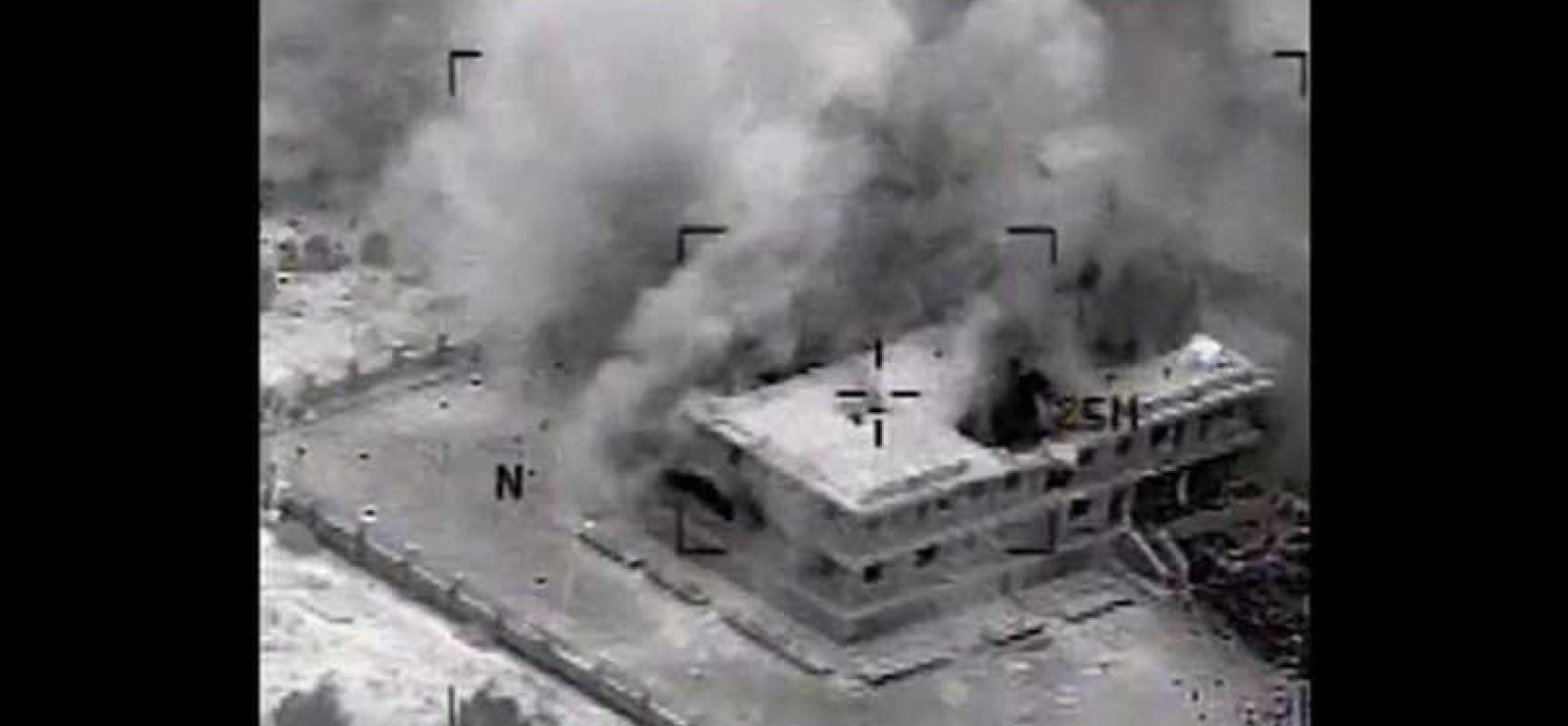 """Résultat de recherche d'images pour """"frappe de la semaine dernière sur une base militaire syrienne"""""""