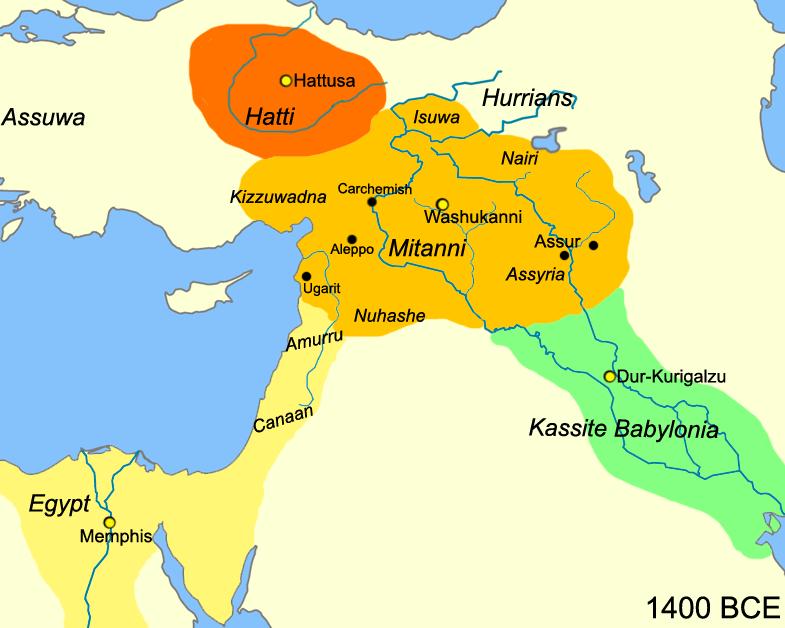 Royaume de Mittani