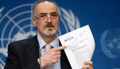 Bachar Al-Jaafari, Représentant de la Syrie à l'ONU. Brillant diplomate, Al-Jaafari n'a jamais émis d'accusations sans des preuves probantes.