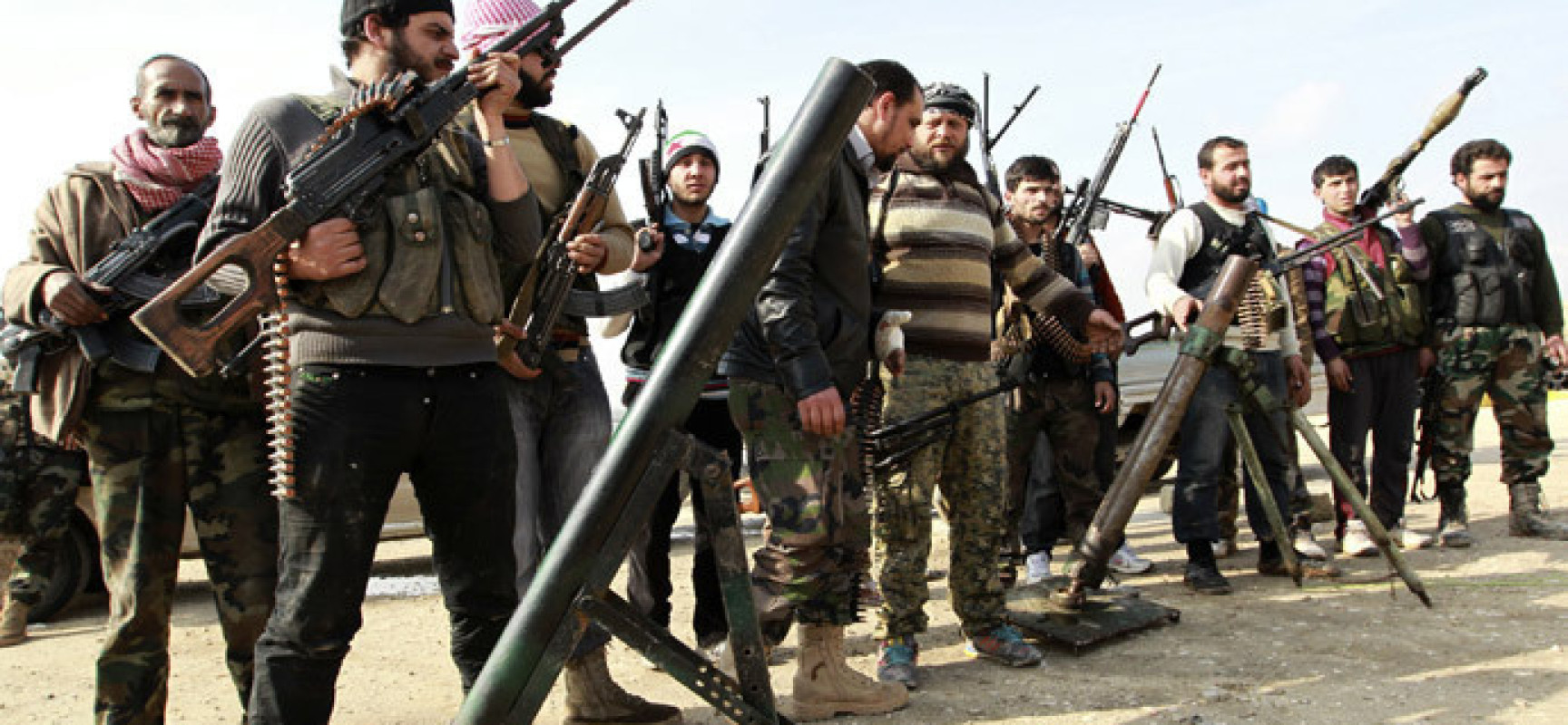 "There is no reason that the ""rebels"" called moderate Syrian fight against Daesh"
