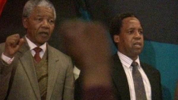 Nelson Mandela et Chris Hani