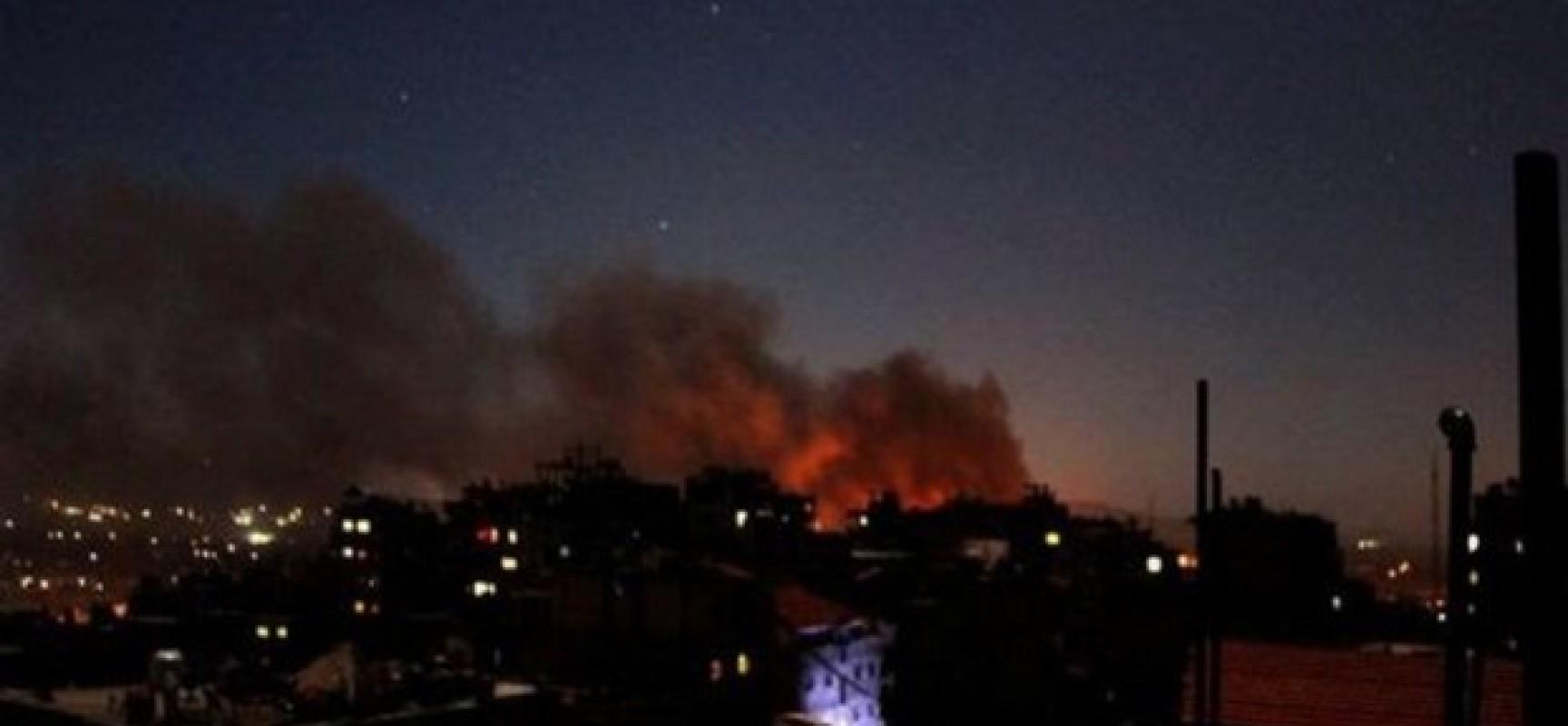 Israël : violente explosion aujourd'hui sur la base aérienne de Hatzor au sud d'Israël
