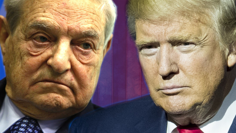 Image result for soros vs trump