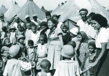 Immigrants juifs du Yémen en 1949 (Photo: Reuters)