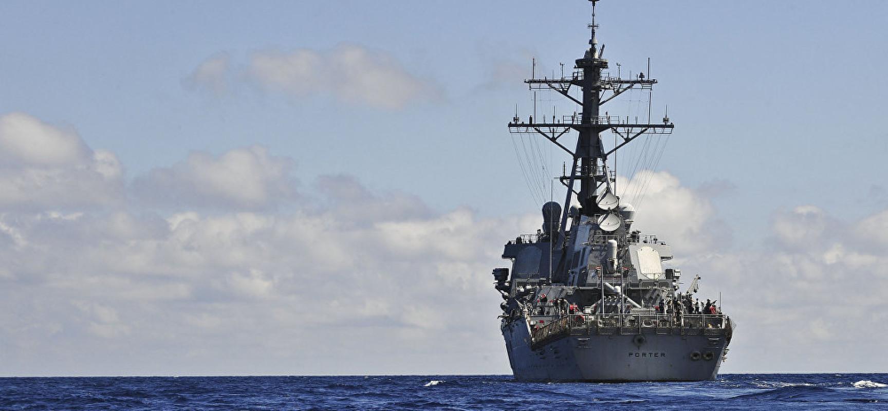 En cas d'un conflit armé en mer Noire, la durée de vie des navires US ne serait pas bien longue (quelques minutes)