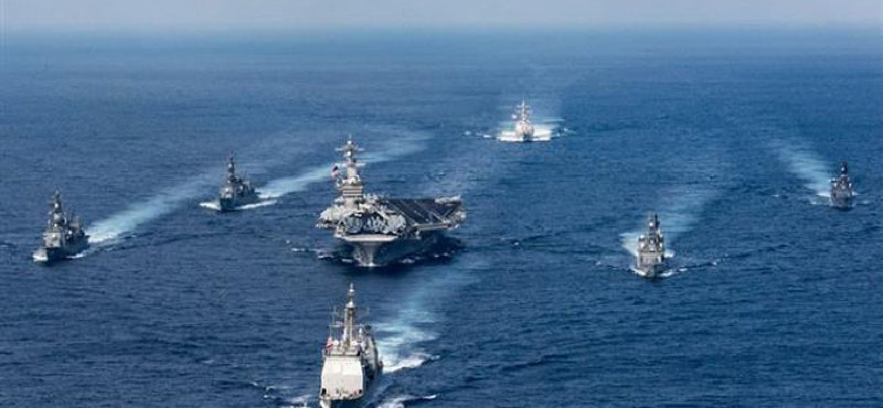 Corée du nord: Pékin et Moscou envoient des navires pour surveiller les agissements du groupe aéronaval américain