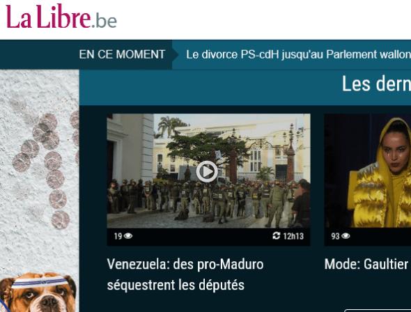 L'appel au coup d'État lancé le 5 juillet par le président de droite de l'Assemblée Nationale (voir ci-dessus) et les provocations des députés d'extrême droite ont dégénéré en affrontements avec les partisans de la révolution, violences condamnées par le gouvernement. Dans les « médias » européens cela devient : « Des pro-Maduro séquestrent l'assemblée ». Sans la moindre mention de l'appel au coup d'État. (NDLR)