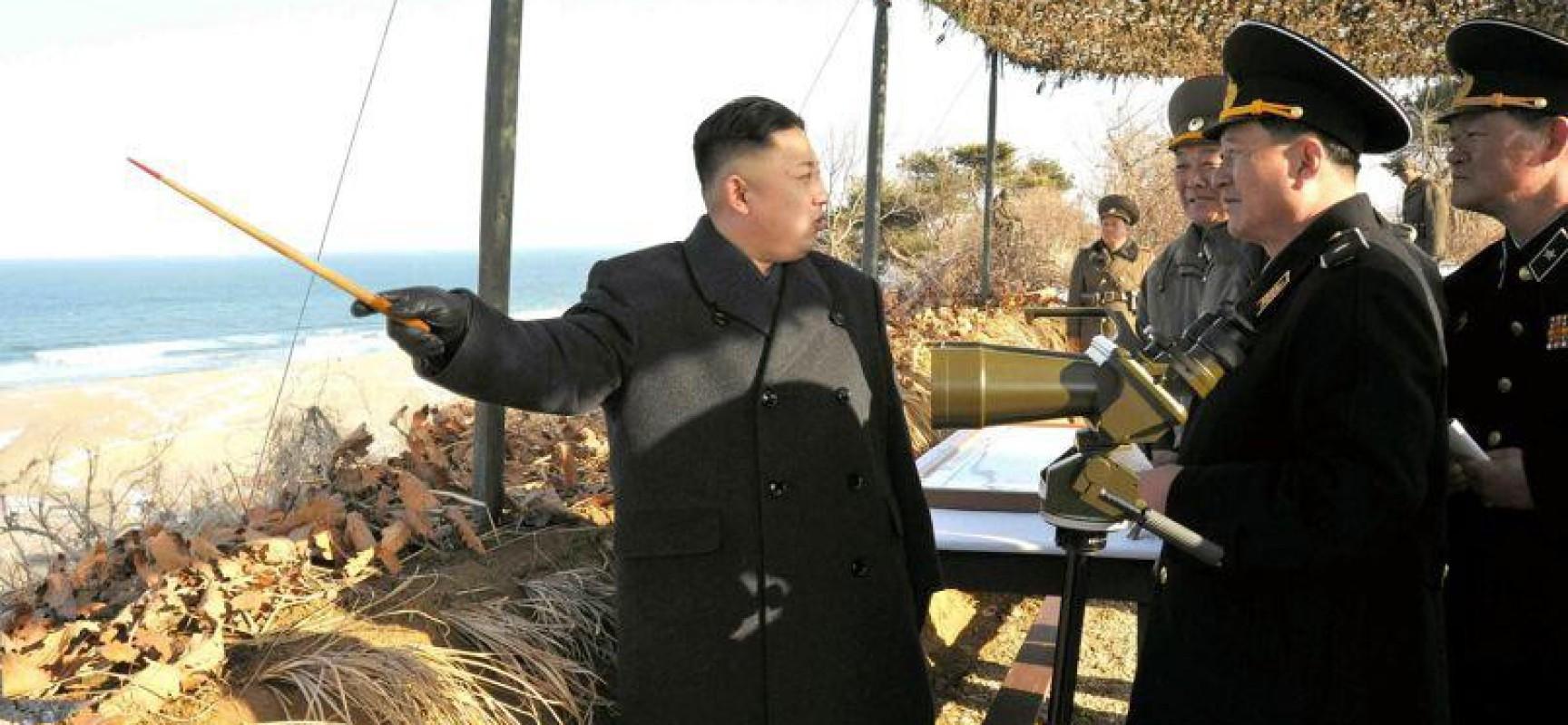 La Corée du Nord se prépare à réagir aux provocations militaires U.S