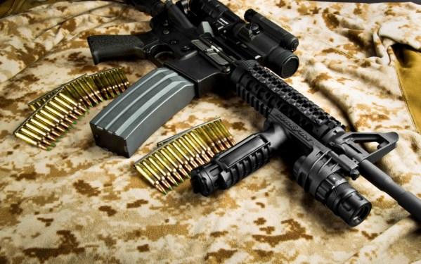 M4A1 Carbine (+accessoires). Coût unitaire: +1032 USD