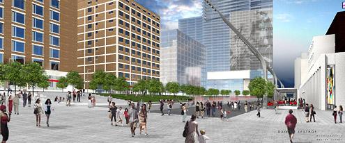 Le Quartier des spectacles de Montréal, habile mise-en-scène d'un urbanisme de la servitude