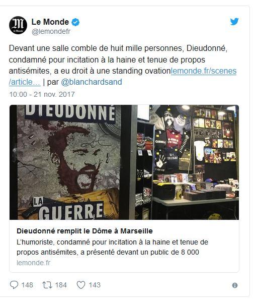 Dieudonné à Marseille 20171122