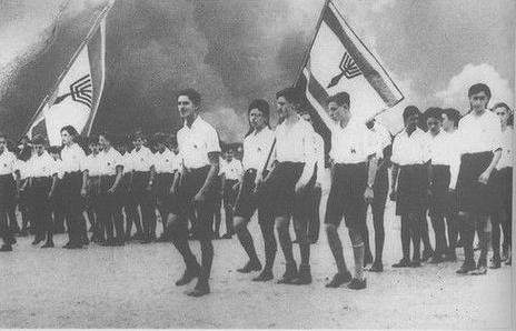 Manifestation du Betar en Allemagne nazie, en 1934