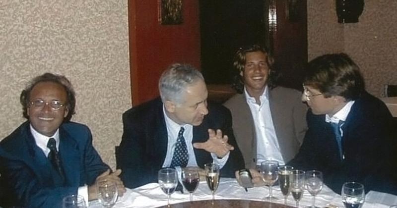 Benjamin Netanyahou & Arnaud Mimran