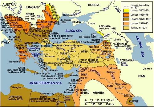 Empire Ottoman en 1820-1924
