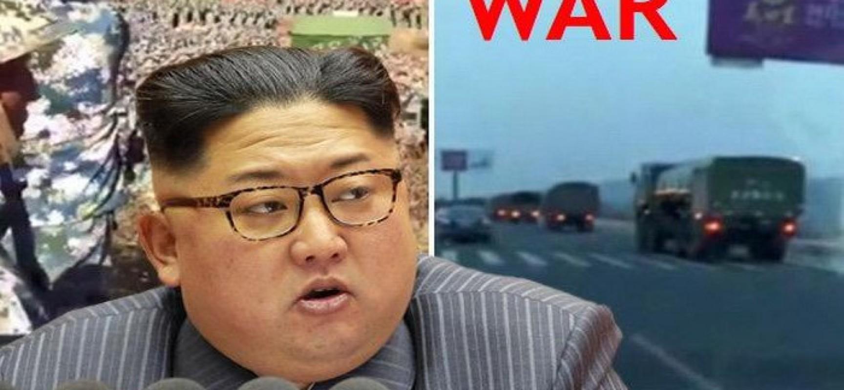 L'armée chinoise s'est précipitée à la frontière nord-coréenne en «préparation à la guerre»