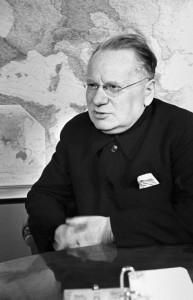 Le ministre soviétique des Affaires étrangères Maxim Litvinov (photo prise en 1937)