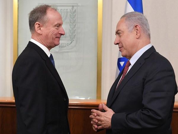PM Netanyahu with Russian Federation Security Council Secretary Nikolai Patrushev