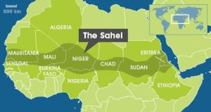 Carte du Sahel – source Scidev