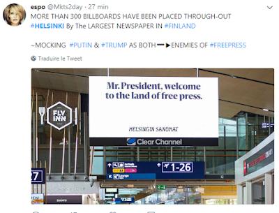 Monsieur le Président, bienvenue au pays de la liberté de la presse