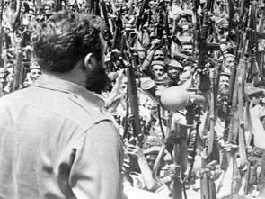 Le processus de changement est passé d'une conception démocratique, populaire et anti-impérialiste à une vocation socialiste inébranlable, proclamée par Fidel le 16 avril 1961