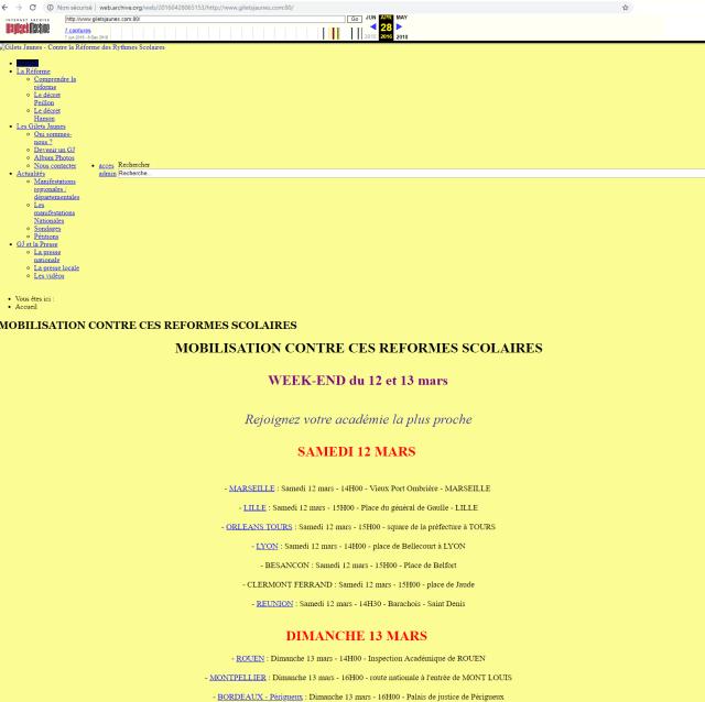 site gilets jaunes 2 20181209