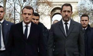 emmanuel macron - christophe castaner Emmanuel Macron & Christophe Castaner, Ministre de l'Intérieur (pour illustration)