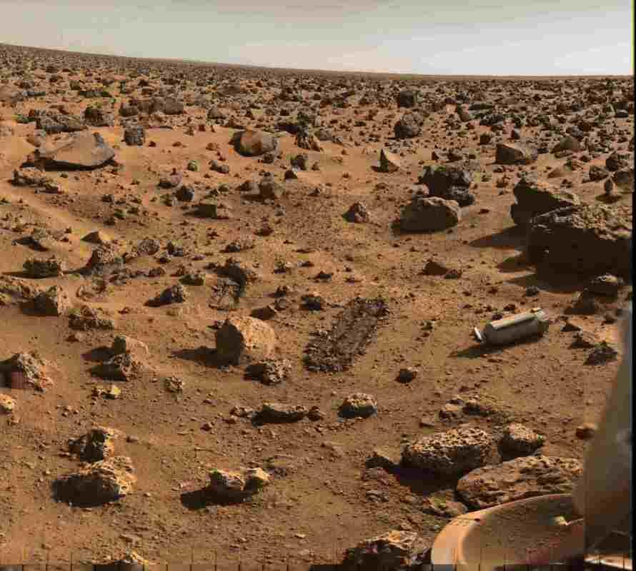 Surface de la planète Mars