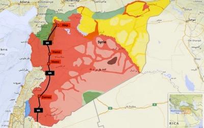 Libération totale de la principale autoroute en Syrie
