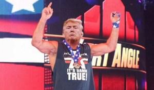 Le Belliciste dépeint Trump en pacifiste