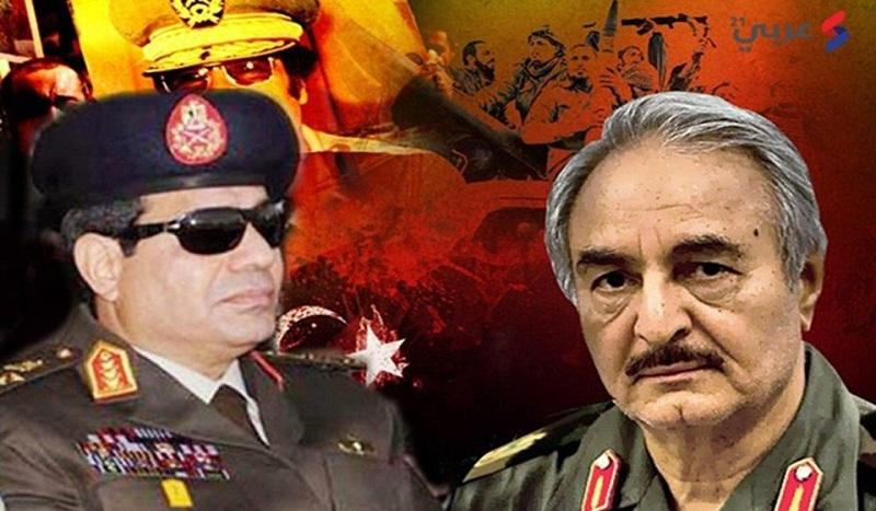 L'Égypte prépare la guerre avec la Turquie en Libye dans une alliance pro-Haftar