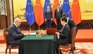 Signature de l'accord entre l'UE et la Chine sur les indications géographiques